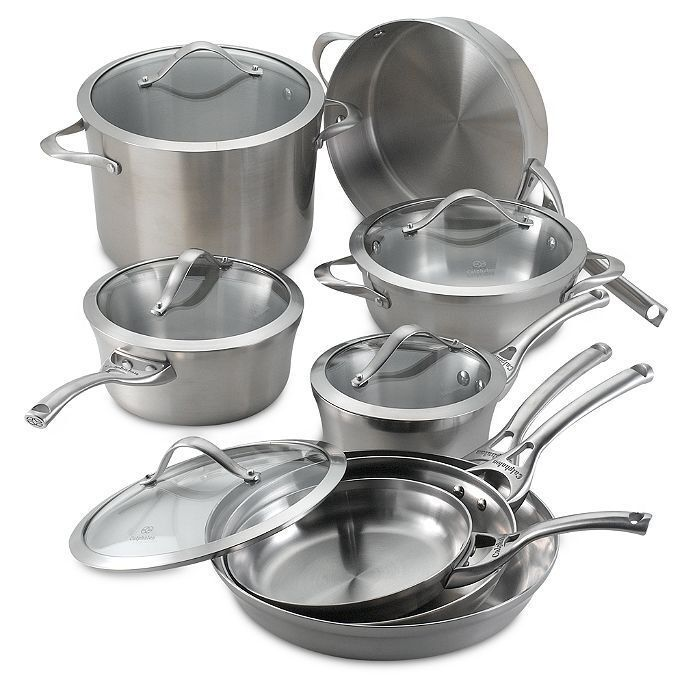 calphalon stainless cookware set - Calphalon Tri Ply Stainless Steel