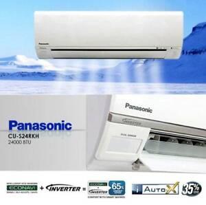 BEAT SUMMER WITH PANASONIC 2.5KW CS/CU-RZ25TKR SPLIT SYSTEMS