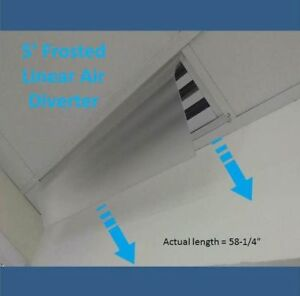 BRAND NEW LINEAR AIR DIFFUSER / DIVERTER.