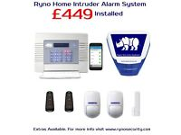 Wireless Burglar Alarm System - Includes Professional SSAIB Installation