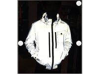 Wellenstyn reflective summer jacket (silver) size L