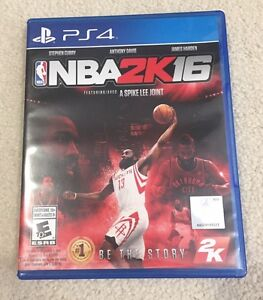 NBA 2K16 for PS4 with EB Games Warranty
