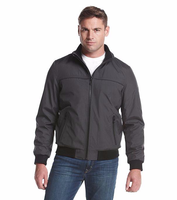 Men's Calvin Klein Ripstop Bomber Jacket MEDIUM M $175 NWT!