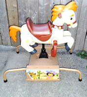 Nickelodeon Dora Diego Bouncing Horse Pinto ARCADE Riding HORSE