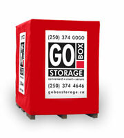 GO BOX Storage Indoor Heated and Unheated Storage Available