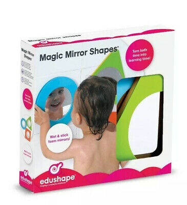 Magic Mirror Shapes & Colors Water Play Set, 3 Piece Baby And Recognition Toys
