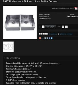 These three sink types $650 NO TAX $$$ London Ontario image 1