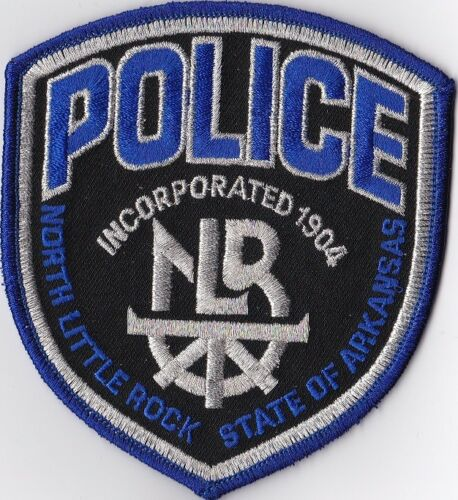 North Little Rock Police Patch Arkansas