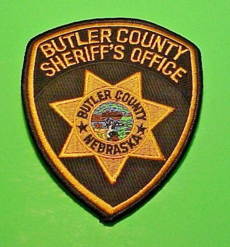 "BUTLER COUNTY  NEBRASKA  NE SHERIFF / POLICE PATCH  5""   FREE SHIPPING !!!"