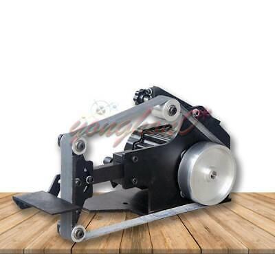 1pcs 220v 7500rpm Mini Belt Sander Bench Grinder Diy Polishing Grinding Machine