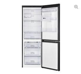 New 60/40 Fridge Freezer - Black sale(6 month old)