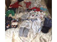 Baby boy clothes bundle 3-6 months 40 items