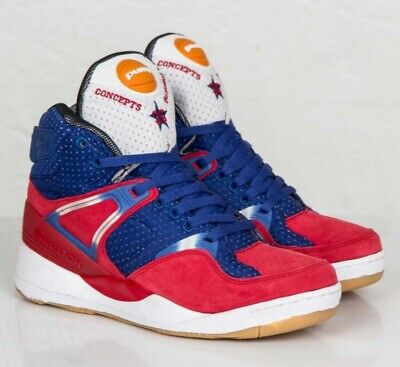 save off f735b f81de Rare Reebok x Concepts The Pump Certified BasketBall Men s Shoe M44303 Size  11.5