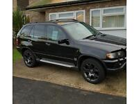 BMW X5 BLACK DIESEL AUTOMATIC FSH NEW MOT