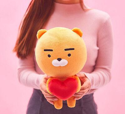 "[KAKAO FRIENDS] Love You Edition HEART RYAN Plush Doll 14"" +Tracking"