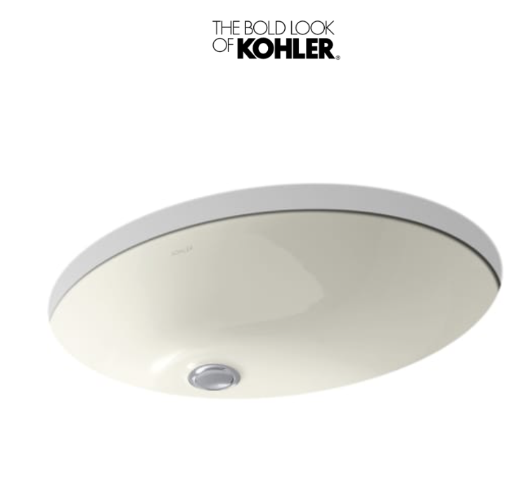 Kohler K-2211-96 Caxton Undermount Bathroom Sink w/ Overflow