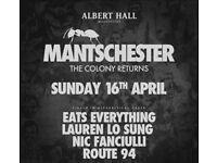 2 x Ants Tickets - Albert Hall Manchester, Sunday 16th April