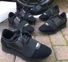 Balenciaga Runners Black/Black UK9