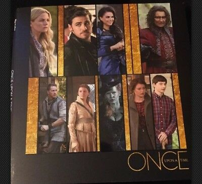 Once Upon A Time  Dvd 2017 Pressbook Emmy Fyc New 2 Episodes Season 6 Abc