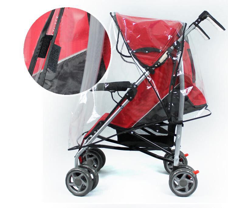 Universal Waterproof Rain Cover Wind Dust Shield Baby Strollers Pushchairs USA