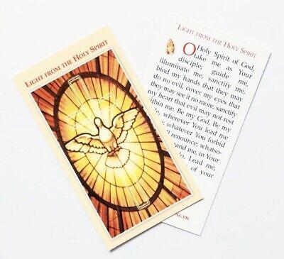LIGHT FROM THE HOLY SPIRIT Prayer Card