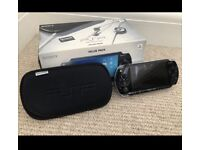 SALE!! Sony PSP Bundle charger, soft case, 4 games original box