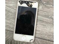 Damaged iPhone 4