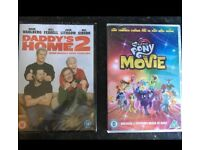 My little pony & daddy's home 2 dvds