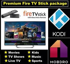 2nd Gen Amazon Fire TV Stick Alexa Kodi 17.3