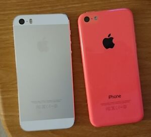 ** Unlocked **Immaculate Apple iPhone 5s and 5c **