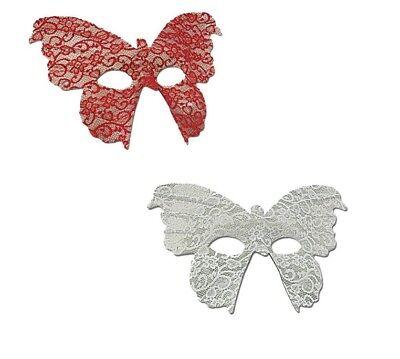 Schmetterling Maske Burlesque Augenmaske Schmetterlings Gesichtsmaske (Burlesque Augen Masken)