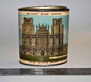 Antique England Sweets Tin for sale