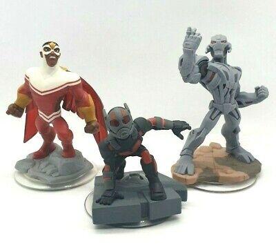 Disney Infinity 2.0 3.0   Falcon Ant-Man Ultron Marvel Avengers 3 Figure Set