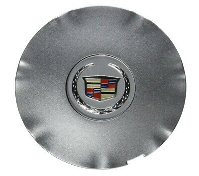 Genuine GM Center Hub Cap Silver With Chrome for Cadillac SRX