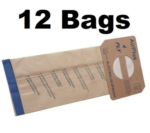 12 Bags for Electrolux Upright Style U Allergy Vacuum bag
