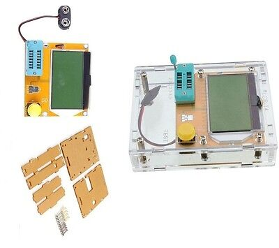 1pcs Lcr-t4 Esr Meter Lcr Led Transistor Tester Diode Triode Capacitance Pnp Mos