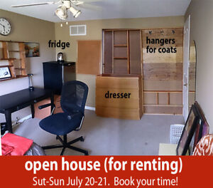 Looking for roommates, students.