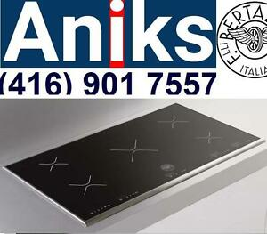 Bertazzini P365IX Stainless 36 Induction Cooktop Reg $4130 blowout sale $1899 while qtys last. call (416) 901 7557