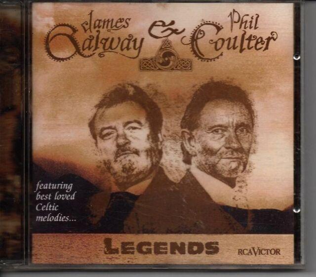 James Galway Phil Coulter Legends CD BEST CELTIC Melodies Riverdance Ireland
