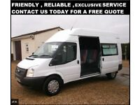 Mini bus exclusive hire available- Glasgow/Bearsden - Ideal for parties of 8 or less