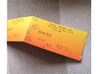 4 front row Jersey boys tickets nottingham