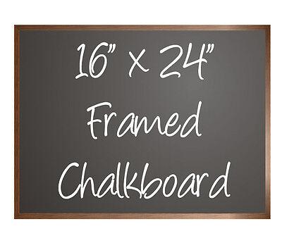 Black Menu Chalkboard Sign 16 X 24 Hardwood Framed Sold By Neoplex