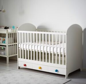 Ikea GONAT adjustable BABY crib/bed