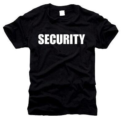 SECURITY - Herren T-Shirt, Gr. S bis XXL - Fasching - Konzert etc.