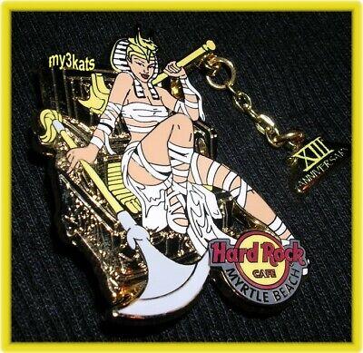 HARD ROCK CAFE MYRTLE BEACH SEXY 13TH ANNIVERSARY MUMMY GIRL PIN 2008 - $20.99