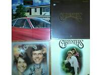 """4 x The Carpenters 12"""" LP Albums + 3 Others Not Pictured"""