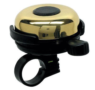 Mirrycle Incredibell- Big Brass Bicycle Bell