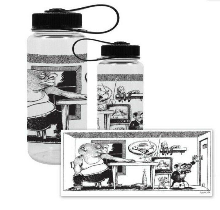 Phish Junta Pollock Print 12/89 NEW Nalgene Bottle Ready to Ship SOLD OUT Rare