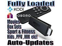 Fully loaded Amazon Firestick. Latest Kodi 16.1 & The Beast 1.6 + Mobdro