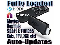 New Amazon Firestick fully loaded with latest Kodi 16.1 & 'The Beast' PLUS Mobdro